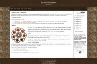 Brown Foil Template.