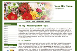 Multifloral Genealogy Website Template.