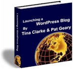 Picture of Launching a WordPress Blog EBook.